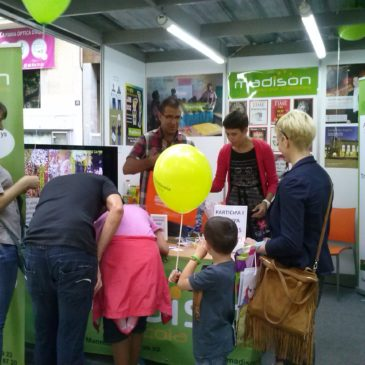Madison a la Fira Expo Bages