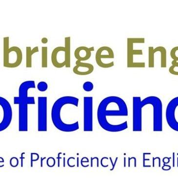 Nuevo curso de Proficiency